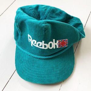 vintage Reebok corduroy hat